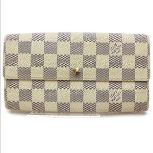 Louis Vuitton Sarah Portefeuille Long Wallet